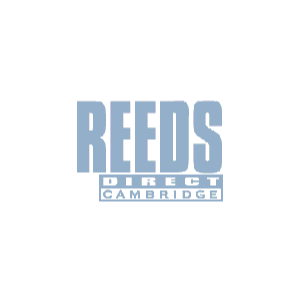 Reeds Direct Silver polishing cloth. Blue.