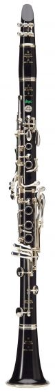 Buffet RC BC1106L Prestige Bb Clarinet. Wooden body. Silver plated. Deluxe leath