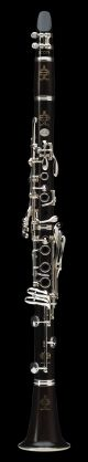 Buffet R13 BC1133L Prestige Bb Clarinet. Wooden body. Silver plated. Deluxe leat