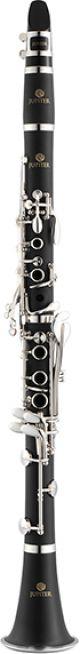 Jupiter JCL700SQ Bb Clarinet. Plastic body. Silver plated keys with lightweight