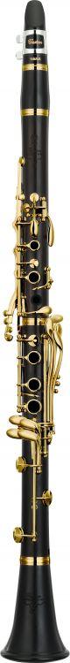 Yamaha YCLCS-GHAIII Custom Clarinet in A. Wooden body. Gold plated keywork. Doub