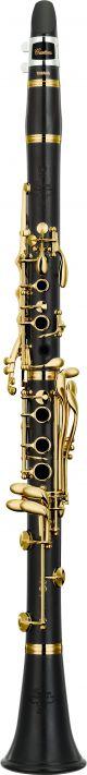 Yamaha YCLCS-GHIII Custom Bb Clarinet. Wooden body. Gold plated keywork.
