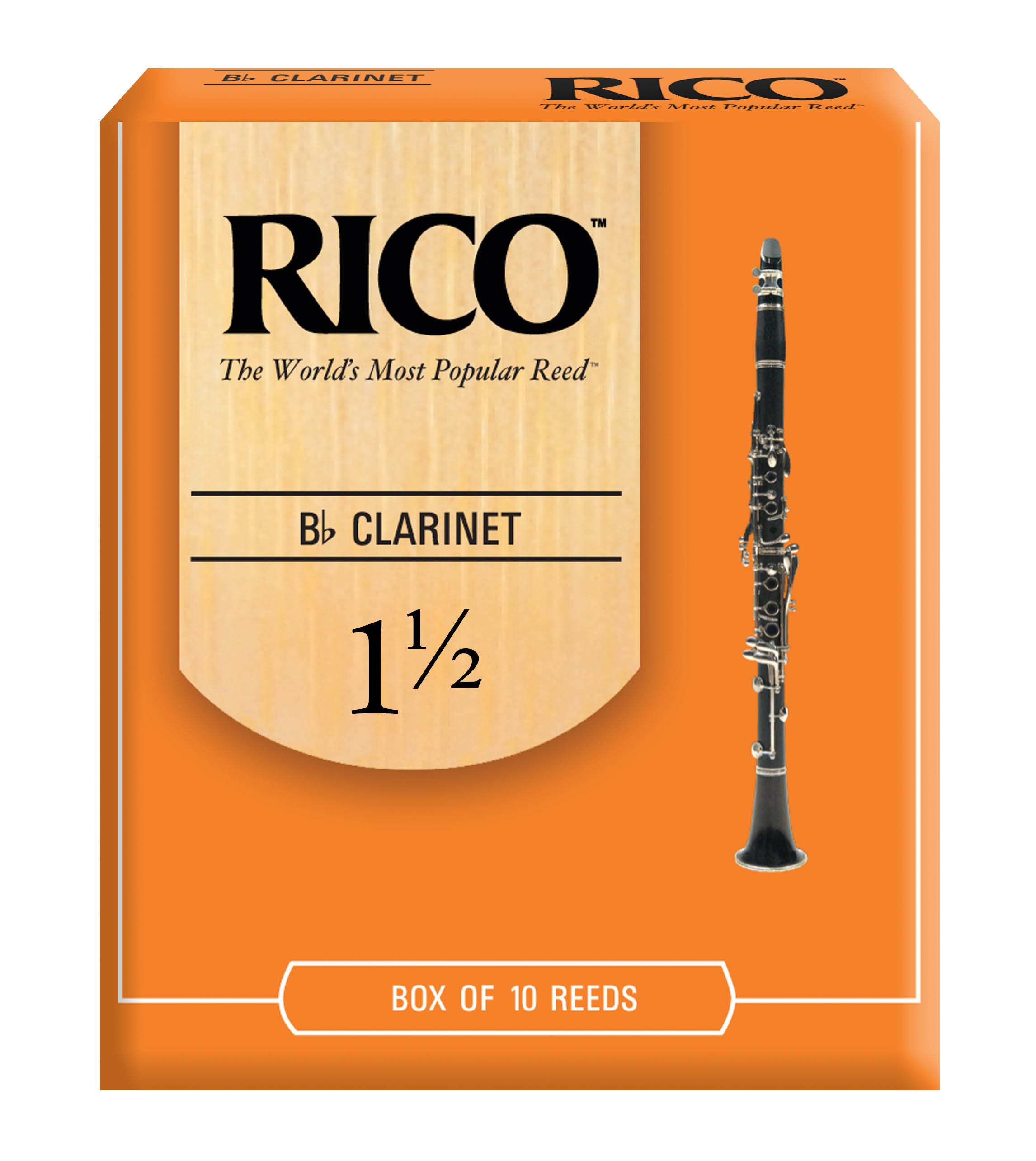 Rico orange box traditional clarinet